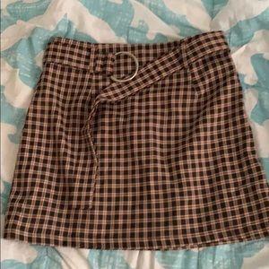 a skirt